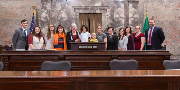 WestSide Baby and Donna Pierce Honored by Washington State Senate