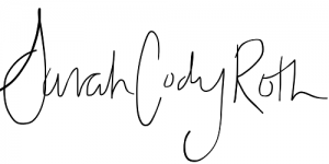 Sarah Cody Roth signature