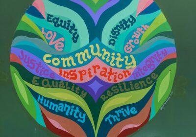 "New Mural: ""WestSide Baby's Community"""