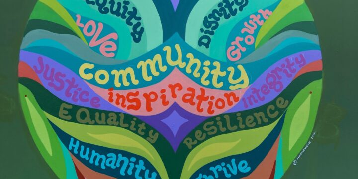 "New Mural: ""WestSide Baby's Community"""